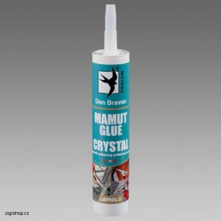 Lepidlo MAMUT GLUE CRYSTAL, 290ml, Den Braven