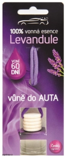 Vůně do AUTA 5 ml - LEVANDULE